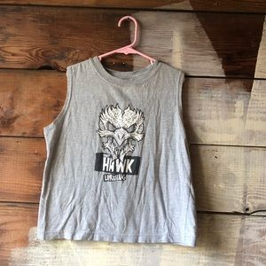 Tony Hawk Kid's Tank Size 8 Skull BOGO Top